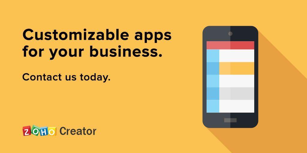 Zoho Creator App Development
